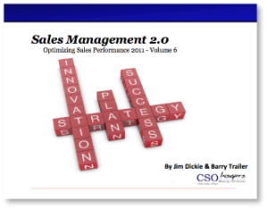 CSO Insights eBook: Sales Management 2.0
